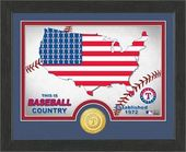 "Baseball - MLB - Texas Rangers ""Country"" Bronze"