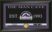 "Baseball - MLB - Colorado Rockies ""Man Cave"""