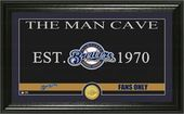 "Baseball - MLB - Milwaukee Brewers ""Man Cave"""