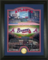 "Baseball - MLB - Atlanta Braves ""Stadium"" Bronze"