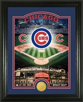 "Baseball - MLB - Chicago Cubs ""Stadium"" Bronze"