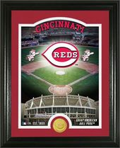 "Baseball - MLB - Cincinnati Reds ""Stadium"" Bronze"