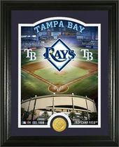 "Baseball - MLB - Tampa Bay Rays ""Stadium"" Bronze"
