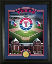 "Baseball - MLB - Texas Rangers ""Stadium"" Bronze"