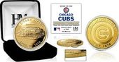 "Baseball - MLB - Chicago Cubs ""Stadium"" Gold Mint"