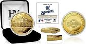 "Baseball - MLB - Milwaukee Brewers ""Stadium"" Gold"