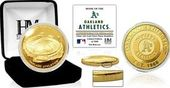 "Baseball - MLB - Oakland A's ""Stadium"" Gold Mint"