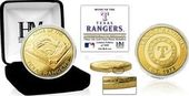 "Baseball - MLB - Texas Rangers ""Stadium"" Gold"