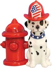Puppy - Dalmatian & Hydrant - Salt & Pepper