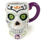 Day of the Dead - 18 oz. Sculpted Mug