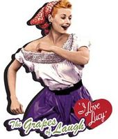 I Love Lucy - Grapes Of Laugh - Chunky Magnet
