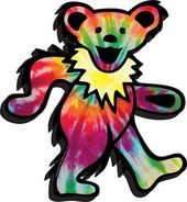 Grateful Dead - Dancing Bears - Chunky Magnet