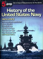 History of the United States Navy (5-DVD)