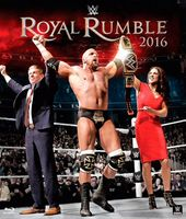 Wrestling - WWE Royal Rumble 2016 (Blu-ray)