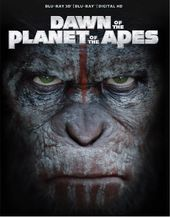 Dawn of the Planet of the Apes 3D (Blu-ray)