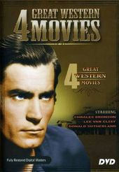 4 Great Western Movies (Against the Crooked Sky /