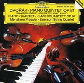 Dvorak: Piano Quintet in A Major, Op. 81; Piano