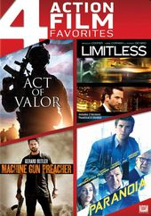 Act of Valor / Limitless / Machine Gun Preacher /