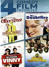 Office Space / Mrs. Doubtfire / My Cousin Vinny /