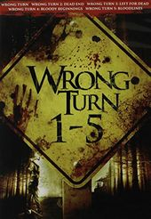 Wrong Turn 1-5 (5-DVD)