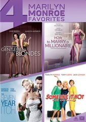 4 Marilyn Monroe Favorites (Gentlemen Prefer