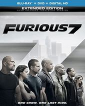 Furious 7 (Blu-ray + DVD)