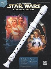 Selections from Star Wars for Recorder (Music Is