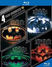 Batman Collection: 4 Film Favorites (Blu-ray)