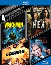 Comics Collection: 4 Film Favorites (Watchmen /