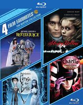 Tim Burton Collection: 4 Film Favorites