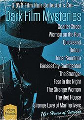 Dark Film Mysteries (3-DVD)