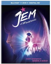 Jem and the Holograms (Blu-ray + DVD)