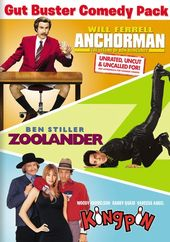 Gut Buster Comedy Pack (Anchorman / Zoolander /