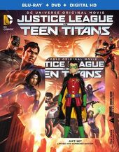 Justice League vs Teen Titans (Blu-ray + DVD +