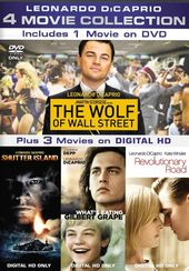 Leonardo DiCaprio 4-Movie Collection (The Wolf of