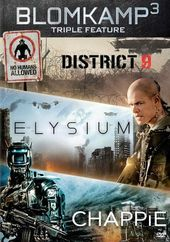 Chappie / District 9 / Elysium (3-DVD)