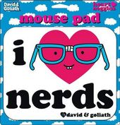 Mousepad - I Heart Nerds