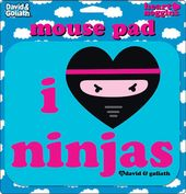 David & Goliath - I Heart Ninjas Mouse Pad