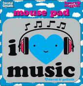 David & Goliath - I Heart Music Mouse Pad