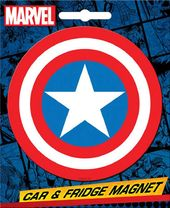 Marvel Comics Die-Cut Captain America Logo Giant