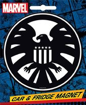 Marvel Comics Die-Cut Shield Insignia Giant Magnet
