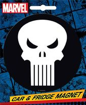 Marvel Comics Die-Cut Punisher Logo Giant Magnet