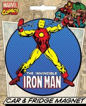 Marvel Comics Die-Cut Iron Man Giant Magnet