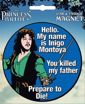 Princess Bride Die-Cut Inigo Montoya Giant Magnet
