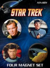 Star Trek - 4 Pack Round Magnet Set # 3