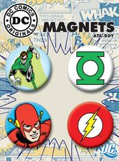 DC Comics - 4-Piece Round Magnet Set (The Flash &