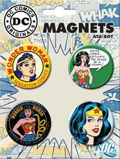 DC Comics - Wonder Woman - 4-Piece Round Magnet