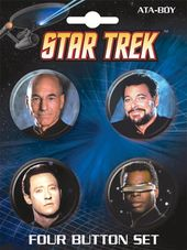 Star Trek - The Next Generation: Carded 4 Button