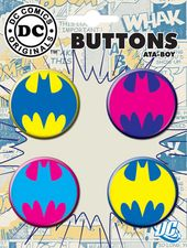 DC Comics - Batman - Logo - 4-Piece Round Button