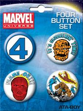 LMTD: Marvel Comics - Fantastic Four Carded 4